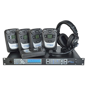 Tempest 900 Wireless Intercom System 4 Channel